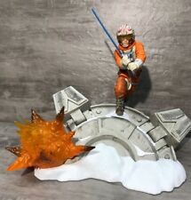 STAR WARS BLACK SERIES CENTERPIECE 02 HOTH LUKE SKYWALKER STATUE LIGHT UP LOOSE