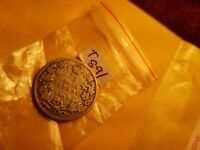 1903 Canada 25 Cents Twenty Five Cents Silver Coin ID#T 891.