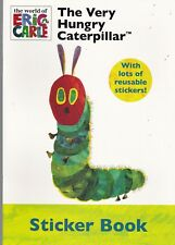 The Very Hungry Caterpillar Sticker Book A4 Eric Carle Age 3