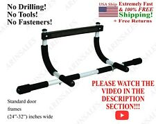 pull up bar push up sit up workout doorway chin-up exercise gym    ! SEE VIDEO !