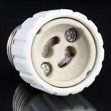 E27 to GU10 Extend Base LED CFL Light Bulb Lamp Adapter Converter Socket 0+
