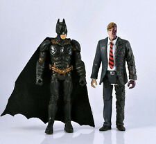 DC BATMAN AND Two-Face THE DARK KNIGHT MOVIE ACTION FIGURE LOOSE TOYS DC MJ04B