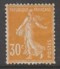 FRANCE - 1907,30c ORANGE SEMEUSE tampon sans Ground - M/M - SG 343