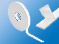 Kräftiges Schaumstoff Doppelklebeband | Weiß | ca. 50m x 8mm | Doppelseitig
