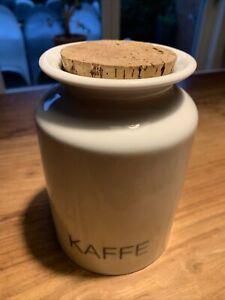 Porzellan Gewürz Groß Dose EVA-TRIO Ole Palsby Danish Design Kaffe Kaffee