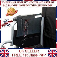 LTG PRO® Wheelchair Armrest Bag Mobility Scooter aid Pannier Shopping Holder