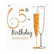 65th Festa di Compleanno Biglietti d'invito, Inc. BUSTE. 6 Pack Simon Elvin QLTY