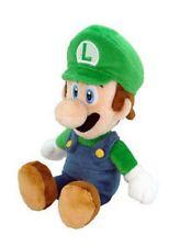 "Authentic Licensed Super Mario Bros Series 9"" Luigi Stuffed Plush Toy Doll NWT"