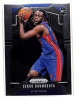 2019-20 Panini Prizm #261 Sekou Doumbouya rookie RC card Pistons