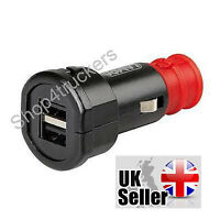 Motorcycle aux power plug standard DIN Hella fast charge 2 x USB for BMW Triumph