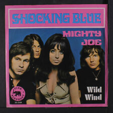 SHOCKING BLUE: Mighty Joe / Wild Wind 45 (Spain, folded PS, center intact)