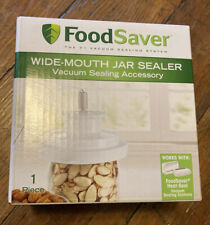 FoodSaver Wide Mouth Mason Jar Vacuum Sealer New! Ships next Business Day!