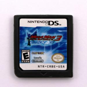 Mega Man Star Force3-Black Ace Game Card for Nintendo DS NDSI/3DS/3DSXL