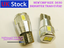 T10 501 W5W Can-Bus NEW GENERATION interior WHITE LED 6-SMD 5630 bulbs BMW III