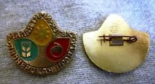 USSR Russian Pin Badge Youth Pioneer org. newspaper  Communist era