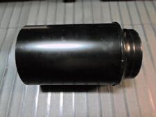 Telescope 80mm F/11 Objective Lens in Cell Dew Shield Made in Japan Vintage