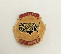 Markel Service Insurance 1 year without accident Ace driver pin 7/8 X 7/8