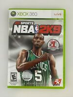 NBA 2K9 - Xbox 360 Game - Complete & Tested