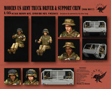 1/35 Scale resin kit Modern US Army Truck Driver and Support Crew for M977 2Figs