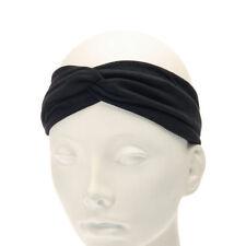 Accessoires de coiffure bandeau noir pour femme