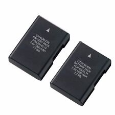 Two EN-EL14 Replacement Rechargeable Li-ion Battery f/ Nikon D3200 D5100 D5300