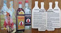 Black Woman on 'Duquesne' Martinique Rum/Rhum 1950s Diecut Advertising Booklet