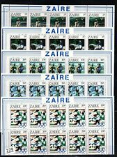 # 10X ZAIRE 1984 - MNH - OLYMPICS - SOCCER