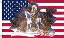 USA Indian Chief USA America 3ft x2ft (90cm x 60cm) Flag