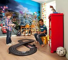 Wall Mural Photo Wallpaper CARS WORLD DISNEY Kids Room Decor 368x254cm CARS II 2