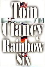 Rainbow Six by Tom Clancy 1998 hardcover ^^