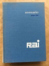 ANNUARIO RAI 1963 Relazione e bilancio dell'esercizio 1962