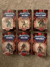 MOTU Masters 6 Mini Figures 2.75? Complete Set Stratos He-Man Mer-Man Skeletor