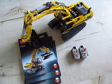 Lego Technic Motorisierter Raupenbagger (8043) Vollständig sehr guter zustand