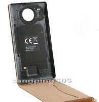 F-Cache Batterie/Flip Leather Cover Case Qi NFC For Microsoft Lumia 950 950XL