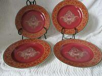 """Set of 4 ~ Vintage Raymond Waites Ancient Kingdom 8"""" Salad Dessert Plates"""