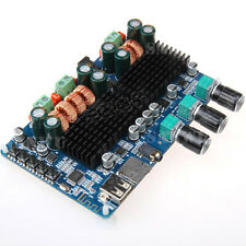 HF41 Bluetooth USB TF Decoding 2.1 Channel Digital Power Amplifier AMP Board