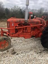 Case Tractor 1952