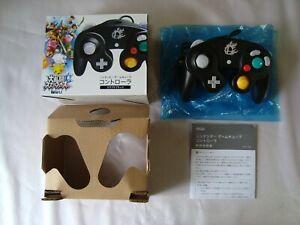 Official Nintendo GameCube Super Smash Bros. Black Controller Boxed