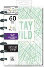 NEW! Happy Planner MAMBI MINI Happy Notes STAY WILD Notebook 60 PGS