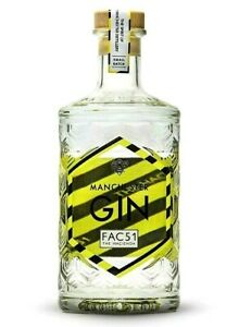 Rare Manchester Gin Hacienda Factory EMPTY Bottle Special Limited Edition Hooky