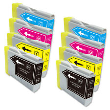 8 PK B C M Y Ink Cartridges fits Brother Series LC51 MFC 685CW 845CW 885CW