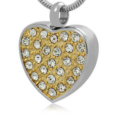 Memorial Cremation Jewelry,Pendant,Urn,Keepsake for ashes,Funeral urn,Heart