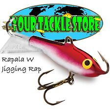 Rapala W7 Jigging Rap You Pick Colors & Quantity NIP