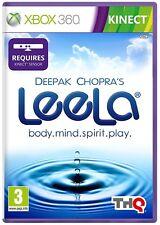 * XBOX 360 KINECT NEW SEALED Game * DEEPAK CHOPRA'S LEELA