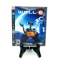 Disney Pixar Wall E Sony PlayStation 3 Complete Game Case Manual CIB Excellent!
