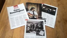 GARY ROSSINGTON (LYNYRD SKYNYRD) 4 page UK ARTICLE / clipping 2012