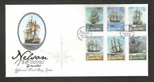 GIBRALTAR 2008 LORD NELSON FDC SG,1268-1273 LOT 5029A