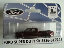 RIVER POINT  2008  FORD F-450 XLT SPORT CREW CAB  DRW  RED  1/87 HO PLASTIC