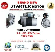FOR RENAULT TWINGO 1.2 16V LPG Turbo 1996->ON NEW STARTER MOTOR 1.1 kW 9 Teeth