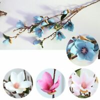 Artificial Magnolia Orchid Long Stem Flowers For Home & Wedding Party Decoration